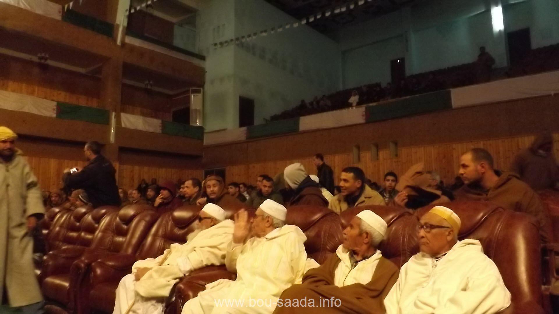 تجمع النواب والمجتمع المدني للمطالبة ببوسعادة ولاية